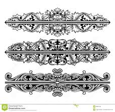 ornaments vector stock vector image of antique 5895442