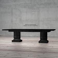 Restoration Hardware Dining Bench by Restoration Hardware Salvaged Wood Architectural Column