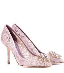 mytheresa com bellucci embellished lace pumps dolce u0026 gabbana