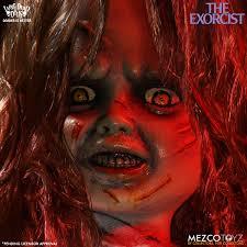 Exorcist Halloween Costume Mezco Living Dead Dolls Exorcist Pre Order Mad Horror