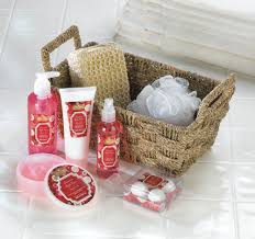 apple spice scent 8pc spa gift basket beauty cinnamon and spices