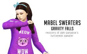mabel sweater gravity falls liahxsimblr