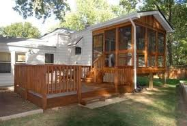 Trailer Sunrooms Deck Ideas For A Camper Our Camper Project Sunroom Decking And Rv