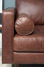 Best Gorgeous Leather Images On Pinterest Tan Sofa Armchairs - Sofa bolster cushions