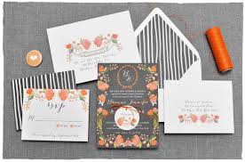 botanical tapestry wedding invitation suite smitten on paper