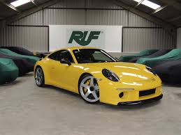 porsche yellow bird ruf automobile uk stocklist on pistonheads