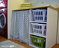 laundry room 4 laundry basket shelf and counter top