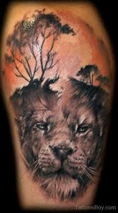 tree and on shoulder designs pictures