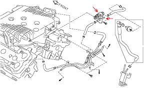 nissan 350z water pump used hr vhr evap purge solenoid z1 motorsports