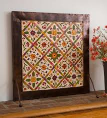 Hand Painted Fireplace Screens - 133 best fireside favorites images on pinterest hearths