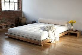 floor level bed low level kingsize bed futon company