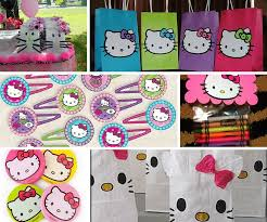 Hello Kitty Hanging Decorations Hello Kitty Party Ideas Girls Party Ideas At Birthday In A Box