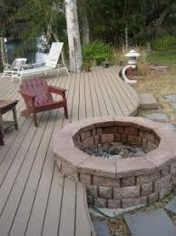 Deck Firepit Deck Pit I This And It S Similar To What We Ve