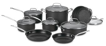 pantry chef cookware cuisinart 66 14 chef s classic nonstick anodized