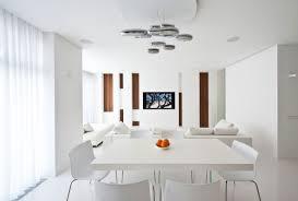 White Dining Room - All white dining room