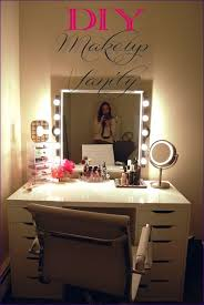 Professional Makeup Lights Professional Makeup Vanity With Lights Home Design Ideas Light