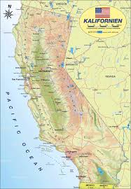 Map De Usa by Map Of California United States Usa Map In The Atlas Of The