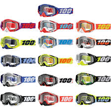100 motocross goggle racecraft watermelon 100 racecraft mx anti fog clear lens motocross offroad goggles ebay