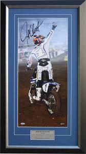 signed motocross jerseys jeremy mcgrath signed print motocross motorcycle racing