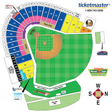 Dodger Stadium Seat Map Ticket Options Sacramento River Cats Tickets