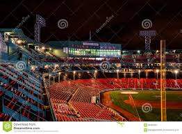 Fenway Park Seating Map Fenway Park At Night Editorial Photography Image 66293487