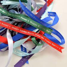 easter ribbon personalised easter ribbon