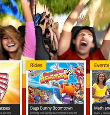 six flags mobile website design and seo newmedia