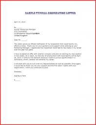 pattern of resignation letter choice image letter format examples