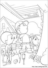 manny coloring picture