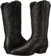 womens black cowboy boots size 9 ariat boots shipped free at zappos