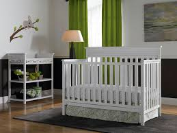 white convertible crib as the practical solution laluz nyc home
