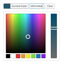 add an alpha rgba color picker to a wordpress plugin input field