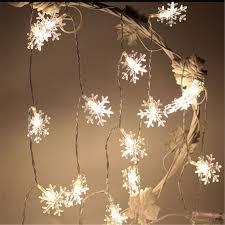 snow decoration wedding decoration 5m natal christmas led string lights decorative
