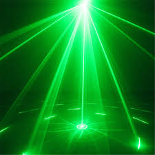 Laser Stage Lighting Outdoor by New 9 Big Gobos Rg Laser Projector Lights 3w Blue Background Led