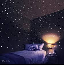 Star Decals For Ceiling by Amazon Com Glow In The Dark 150 Stars Vinyl Wall Decals Set By