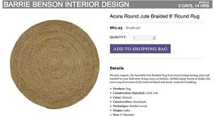 Round Rug Pottery Barn Since We U0027re On A Rug Kick Young House Love