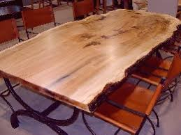 Cypress Dining Table by Woodsmiths Slab Tables