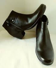 womens boots size 12 narrow zip block heel ankle boots narrow aa n shoes for ebay