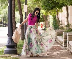 flowy maxi skirts how to wear a chiffon maxi skirt by 3 ways to wear