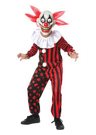 googly clown boys costume scary costumes