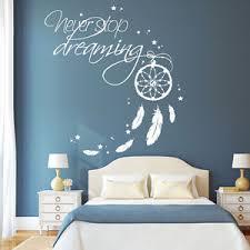 stickers chambre 10638 wandtattoo loft stickers muraux ne jamais arrêter de rêver