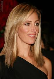 hairstyle for below the shoulder kim raver s refined simple hairstyle with the hair cut below the