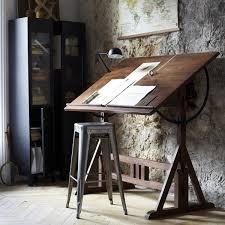 Studio Drafting Table by Nice Drafting Table Toile Planisphère Discipline Et Bureau D