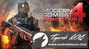 modern combat zero hour apk modern combat 4 zero hour 1 1 6 apk sd data