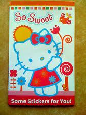 sanrio stickers hello kitty toys ebay