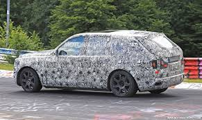 roll royce cullinan 2019 rolls royce cullinan spy shots and video autozaurus