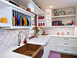 delta touch faucet kitchen eclectic with arabesque tile austin
