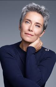 stylish cuts for gray hair silver grey hair hair and beauty pinterest silver grey