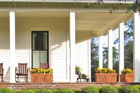 farmhouse porches 10 tips for decorating your winter porch u2026 a bowl full of lemons