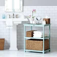 small storage table for bathroom bathroom tables storage small white table design storage table for